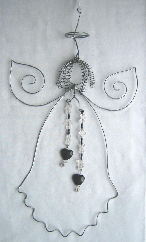 30 cm med pärlhängen